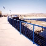 Commercial Cable Railing Iron with Stainless Steel Cable at Marina (#CR-22)