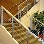 Commercial Cable Stair Railing