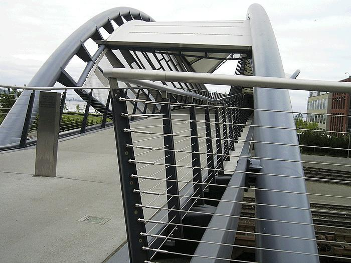 Cable Railing on Bridge