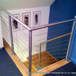 Stainless Steel Pipe Rail with Stainless Steel Railing